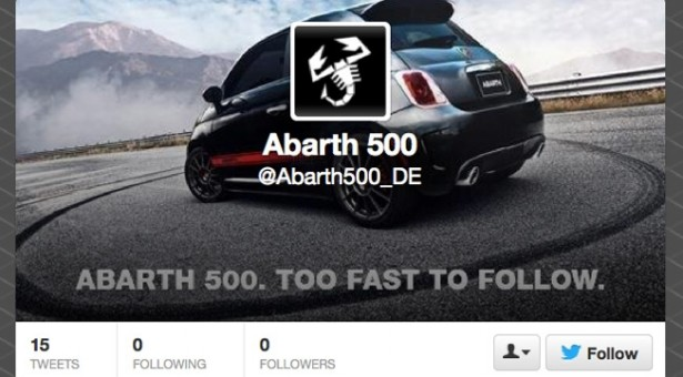 Too Fast To Follow #Fiat Abarth 500